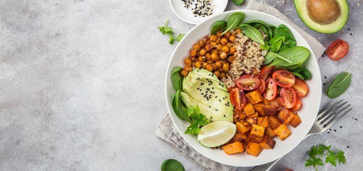 Protein Packed Vegan Buddha Bowls