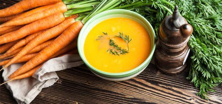 Carrot And Avocado Gazpacho