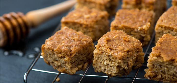 Healthy Peanut Butter Breakfast Bars