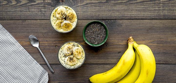Easy Banana Chia Pudding For Breakfast