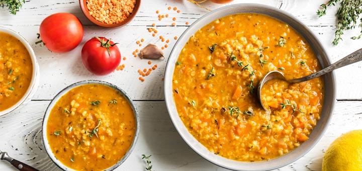 The Best Tomato Lentil Soup