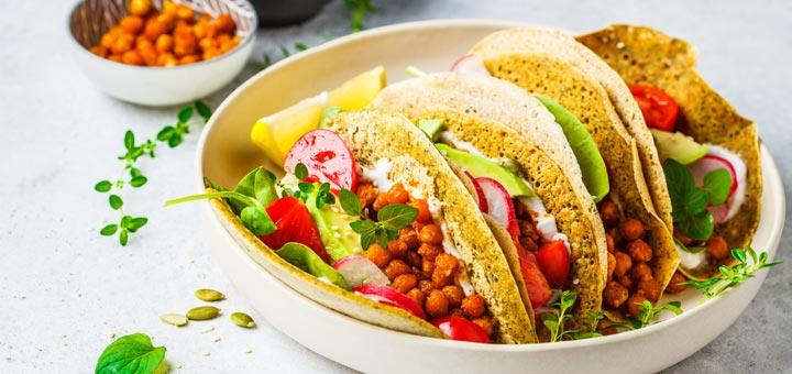 Easy Vegan Chickpea Tacos